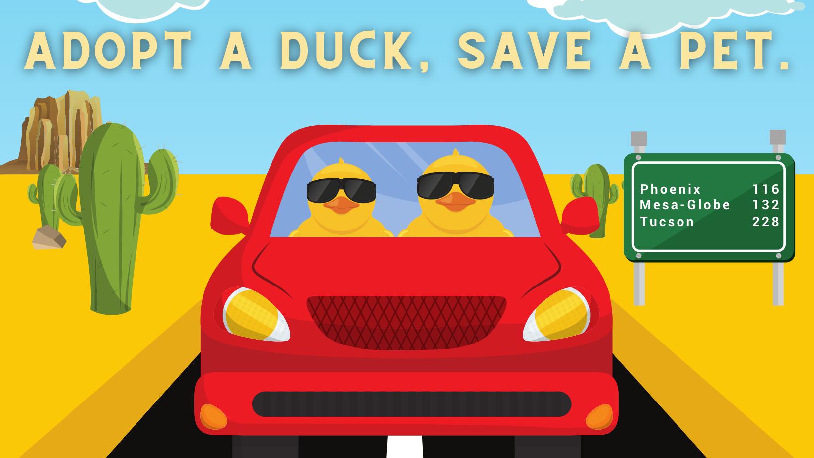 2021 Desert Duck Derby Graphic